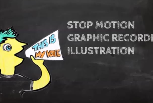 stop motion, graphic recording, illustration