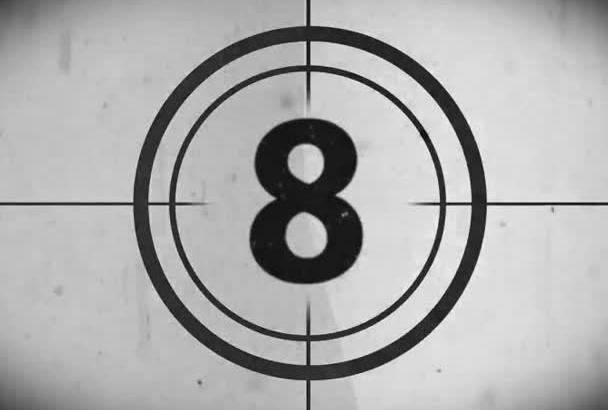 create classic Movie Countdown Intro