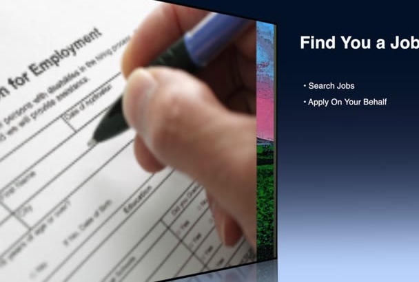 search jobs and careers for you and apply to them as well at low price