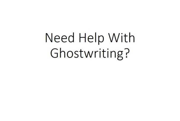 ghostwrite anything you want