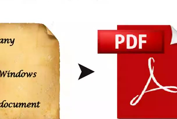 convert your document to PDF