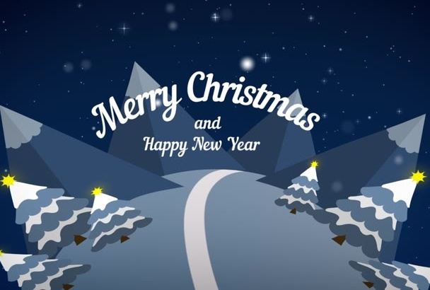 create wonderful christmas greeting video any 1 out of 2