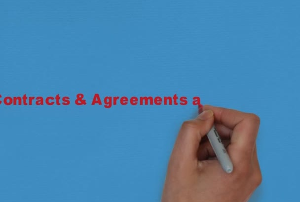 write SOLID legal document, contracts and agreements