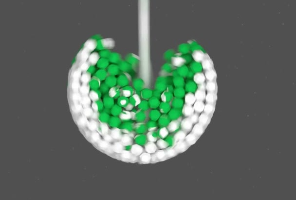 create this PHYSICS 3D animation of your logo