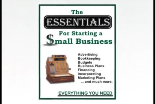 teach FINANCIAL Essentials for Small Business and Business Plan