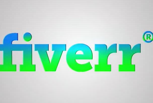 make Attractive Logo Intro Buy 1 Get 1 Free