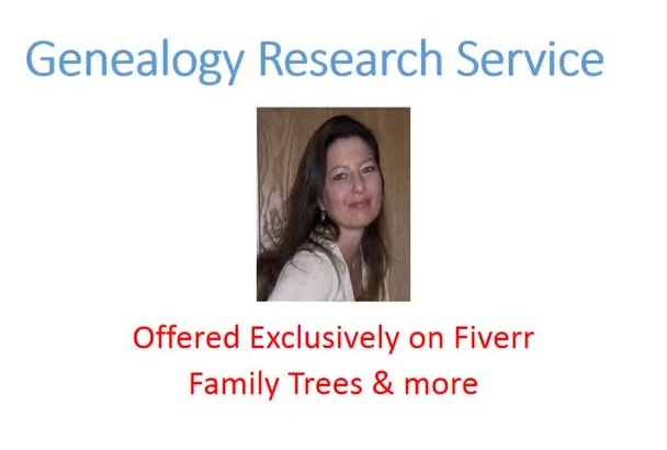 do Genealogy Research for you