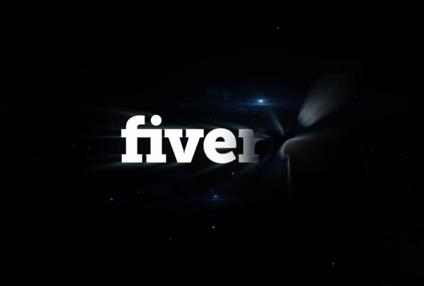 make this Elegant Particle Intro for your logo