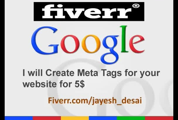 create Meta Tags for rich snippets