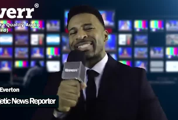 be your ENERGETIC News Reporter