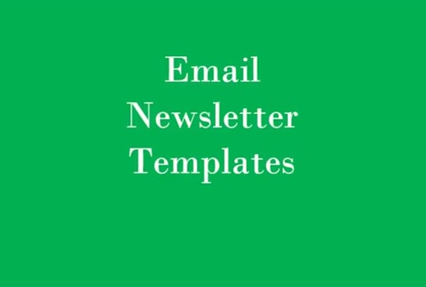 create HTML email template