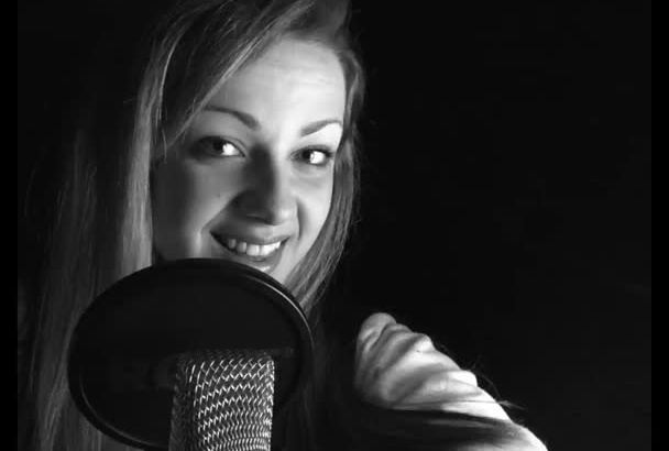 be your natural female voiceover professional