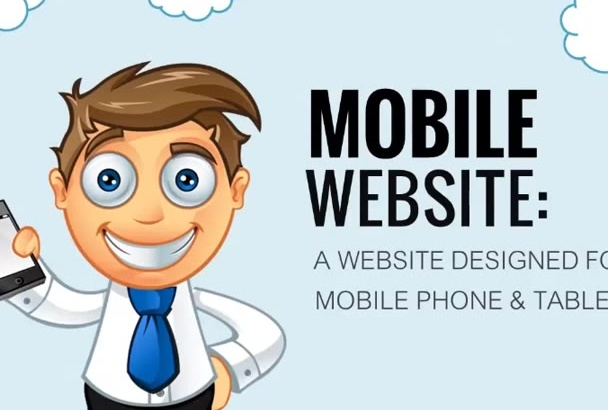 personalize this mobile web design plr video, your clients will love it