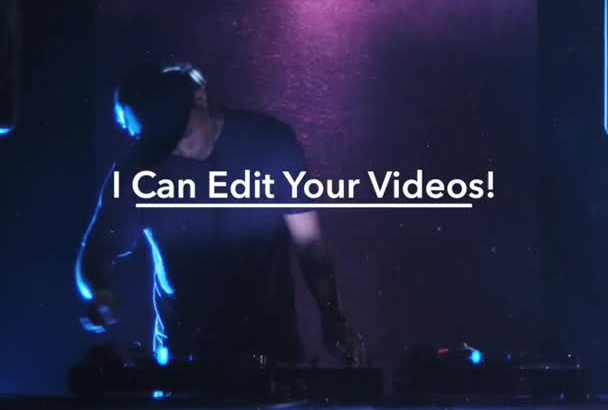 do a PRO video editing