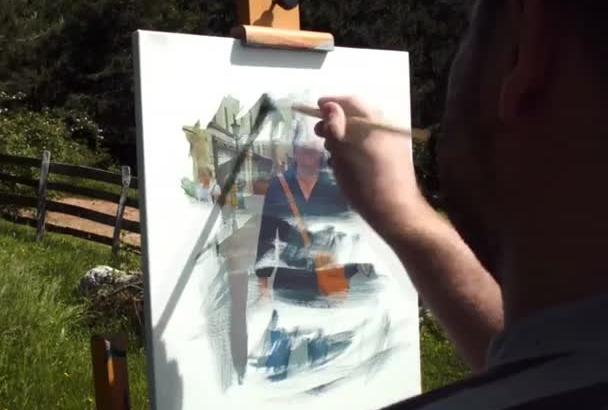 painting of your photo in video