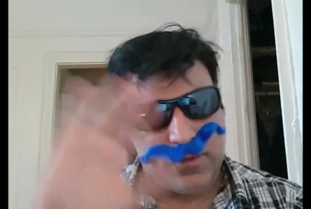 say any thing you want with my Big Mustache