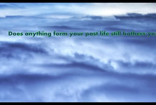 answer  3 questions about your past life and do healing
