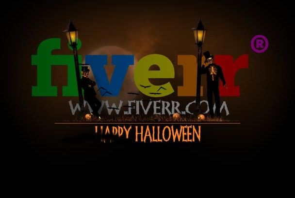 do a Halloween video greeting with your logo
