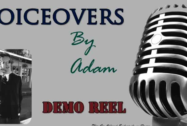 provide any type of voice over you might require