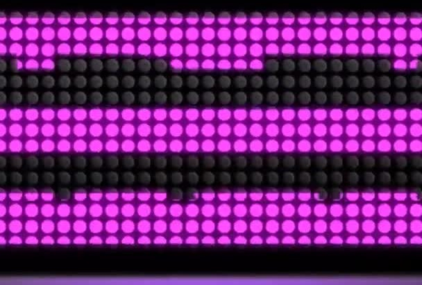 create this LED logo intro video