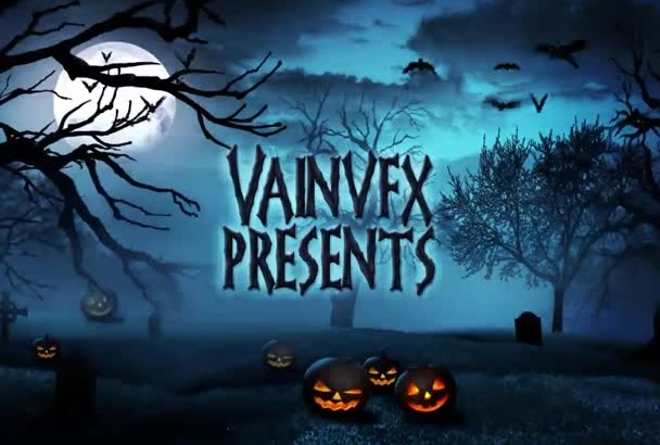 design An Amazing Halloween Video in HD 1080P Hq