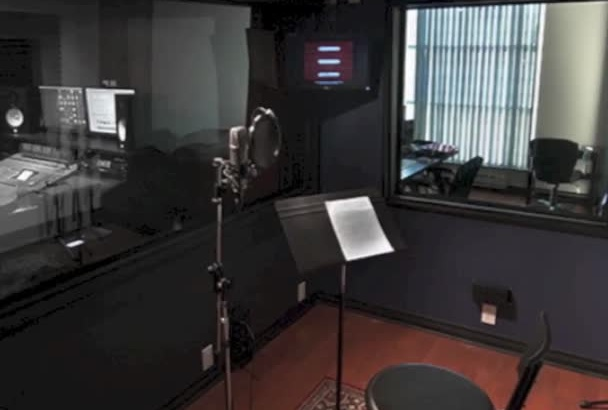 record an amazing professional voiceover of up to 120 seconds