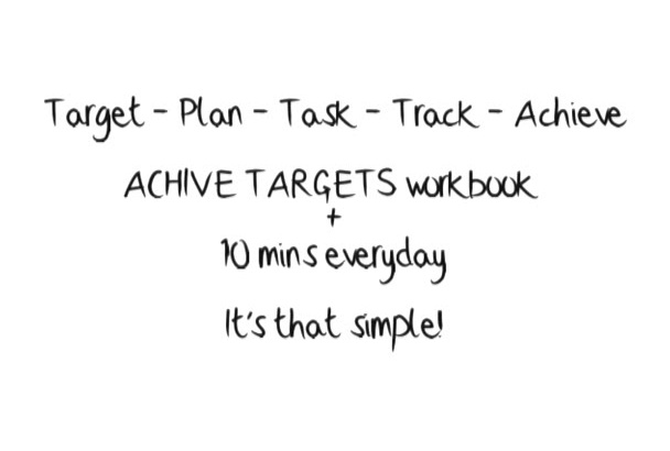 send you a Workbook to Achieve Targets and Goals in Life and Work