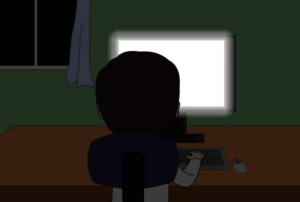 deliver SCARY animated video