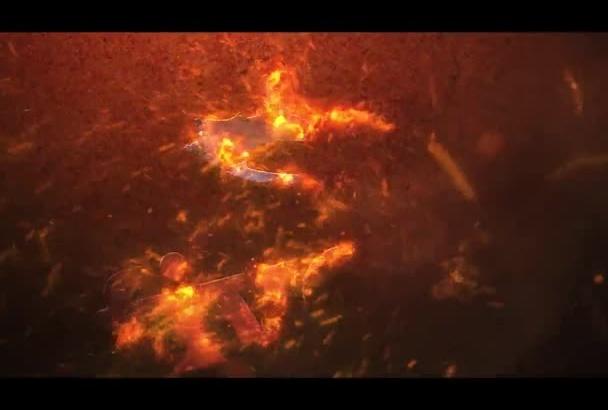 make an amazing quick fire logo animation