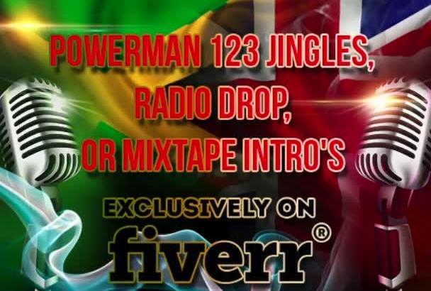 make Jingle Radio drop or mixtape intro