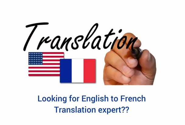 translate 1000 words from English to French