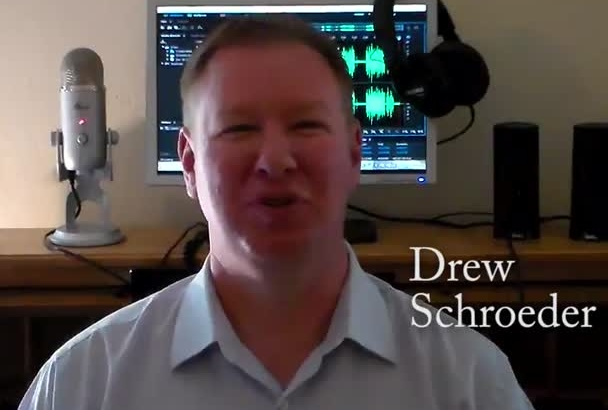 record a pro deep American male voice over