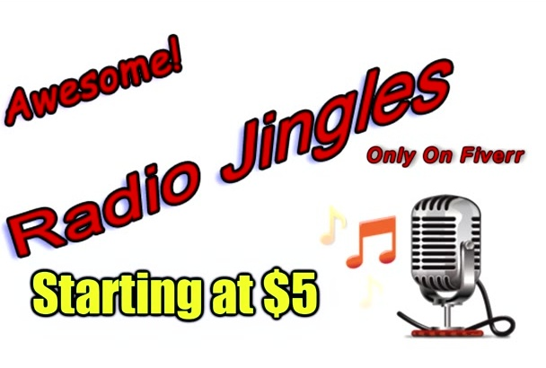 sing your 15 second jingle with guitar or piano