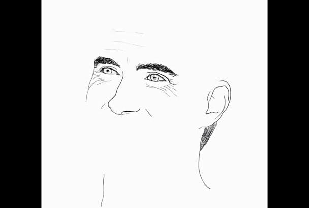 hacer retratos de artistas o de la persona que desee
