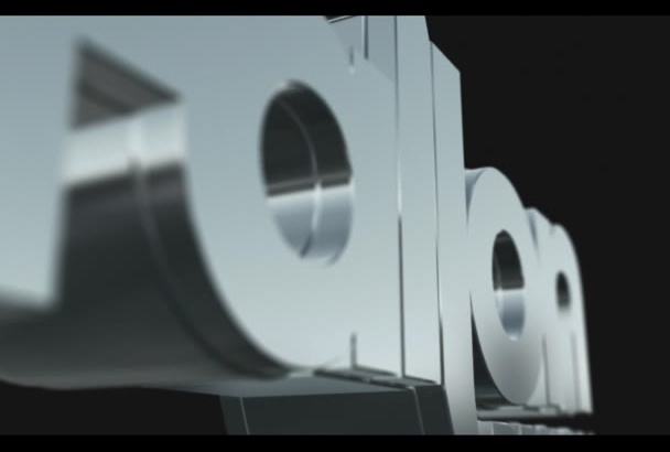 place your name in this 3D Animation