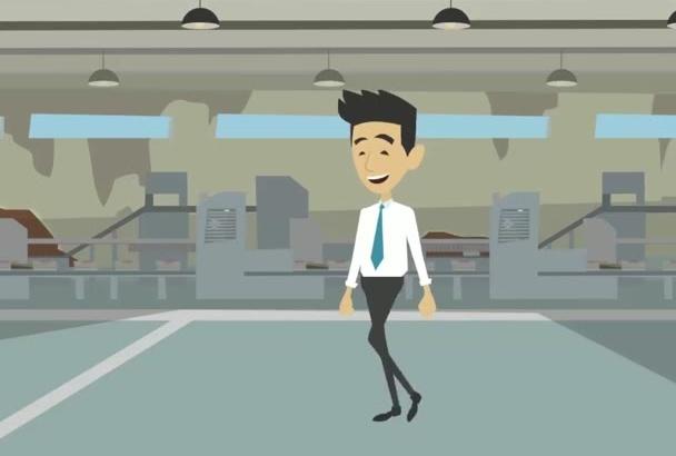 hacer un vídeo  de dibujos ANIMADOS explicativo y exitoso