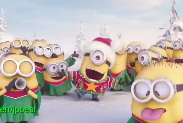 create This Minion Xmas Video