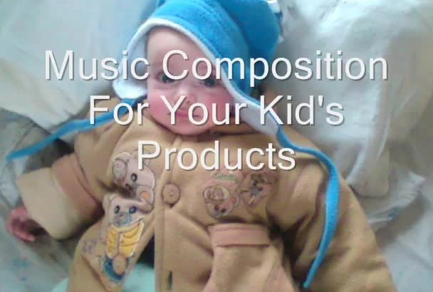 create unique music for your kids products and ads
