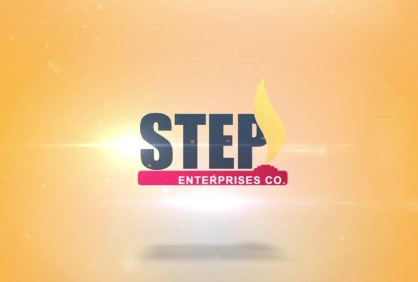 create an amazing logo intro animation