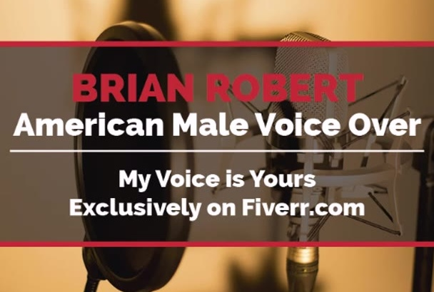 record 225 Words American Male VoiceOver Today