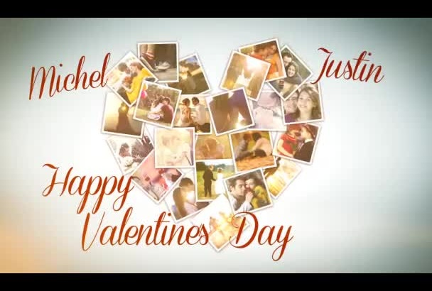 make valentines day greeting video