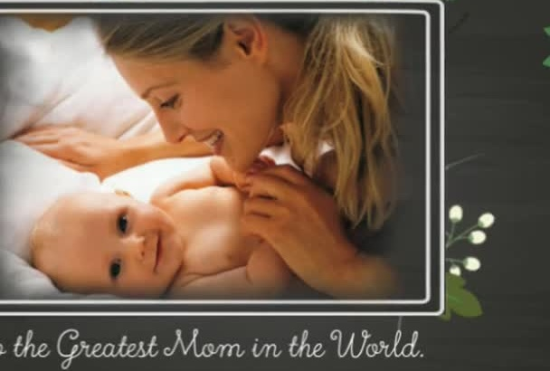 create the BEST Mothers Day Video Montage in 24hrs