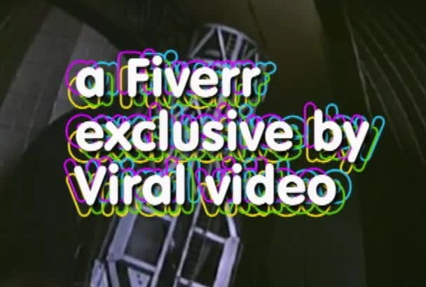 add your text to this exciting exploding stars Retro 50s video