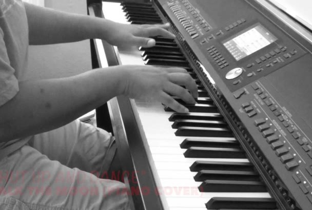 play an amazing PIANO cover of your favorite song