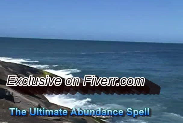 cast  an ULTRA strong spell which will make you extremely wealthy