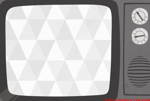 make a Retro TV style animation video