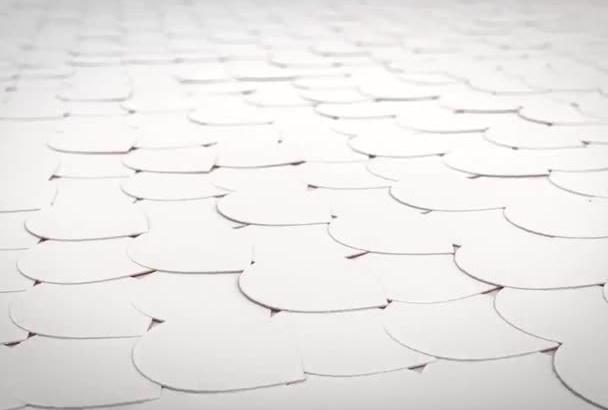 create Best HD Paper Logo Intro Video