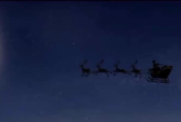 do Christmas special greeting video