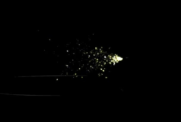 make an animated explosion video intro