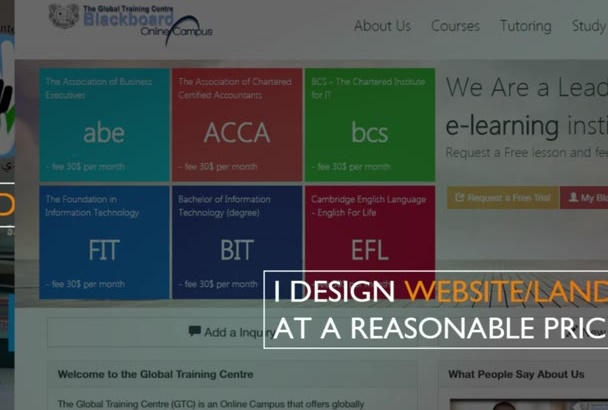 create a whole website for you